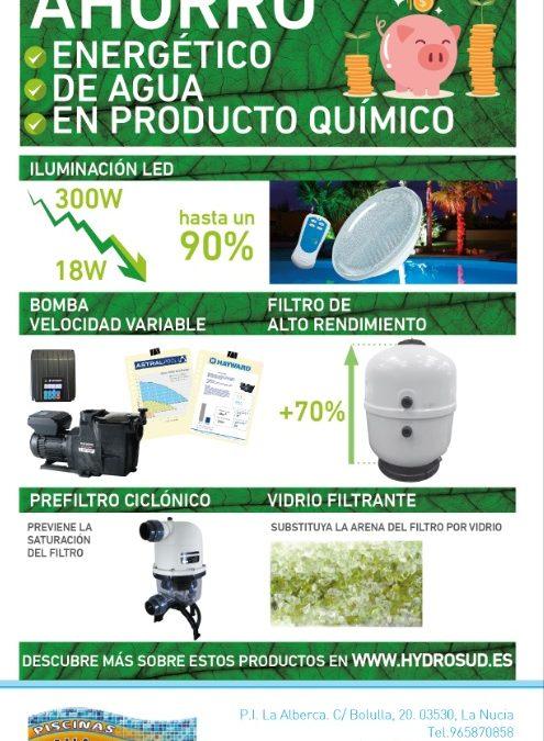AHORRO!! ENERGÉTICO, DE AGUA Y EN PRODUCTOS !!